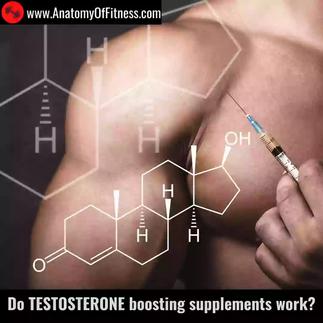 Do TESTOSTERONE boosting supplements work?