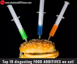 Top 10 disgusting FOOD ADDITIVES we EAT!