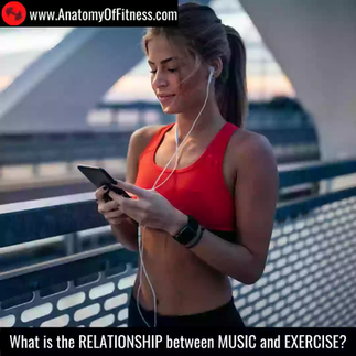 What is the relationship between MUSIC and EXERCISE?
