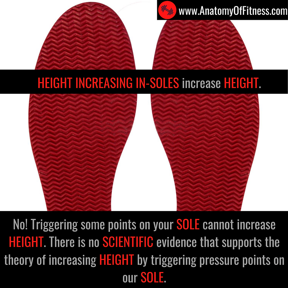 Do HEIGHT INCREASING IN-SOLES increase our HEIGHT?