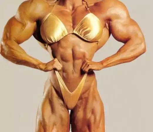 A woman on STEROIDS.