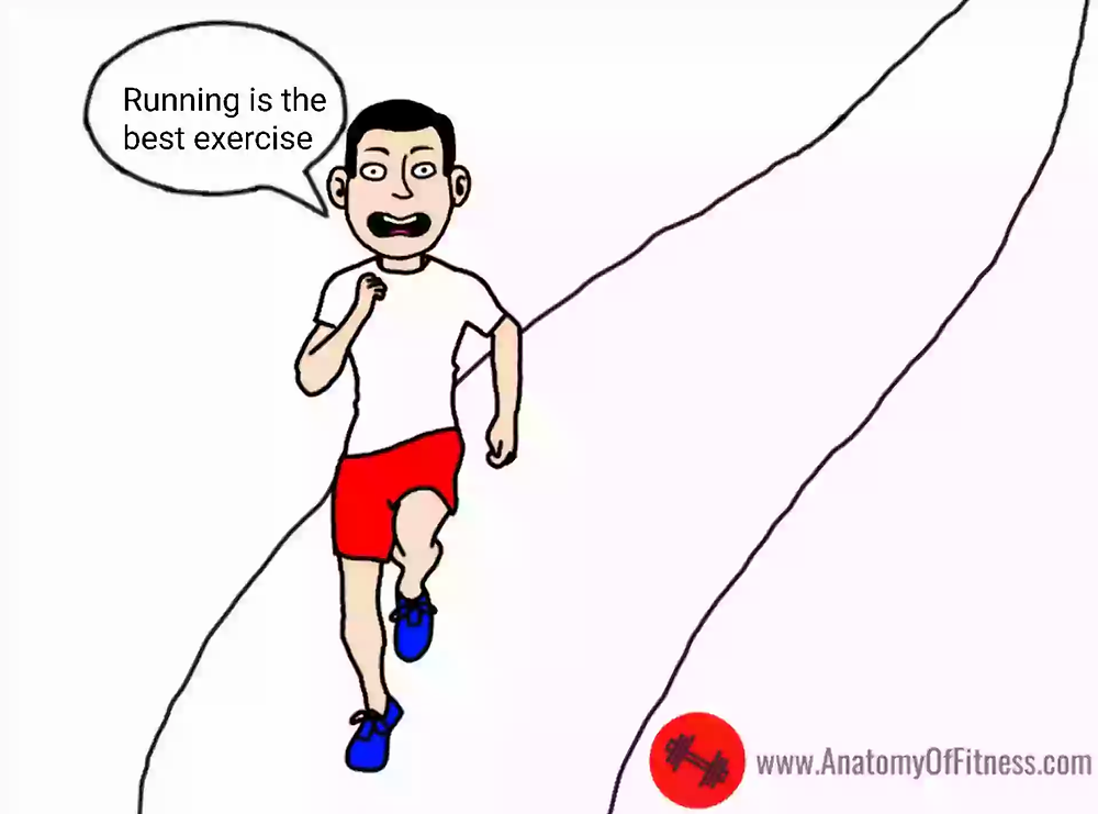 Is running the best exercise?