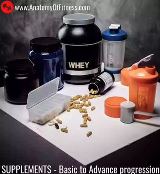 What are The Different Types (Levels) of SUPPLEMENTS for FAT LOSS and MUSCLE GAIN?