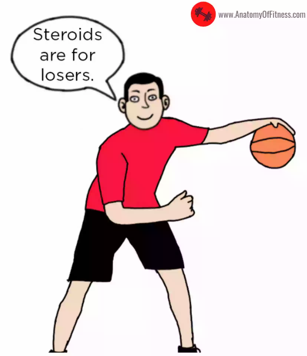 Steroids and Athletes.