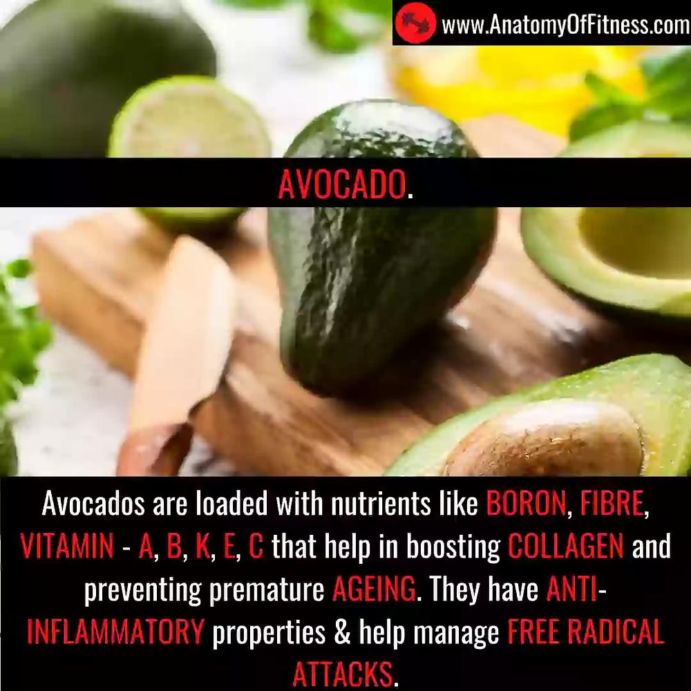 Avocado for ANTI-AGEING.