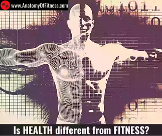 Is HEALTH different from FITNESS?