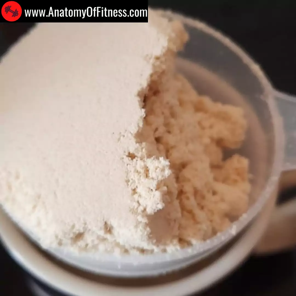 Chocolate flavoured whey protein isolate powder for keto chocolate cake recipe.