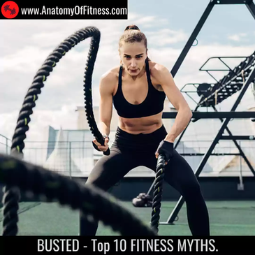 Busted: Top 10 Fitness Myths