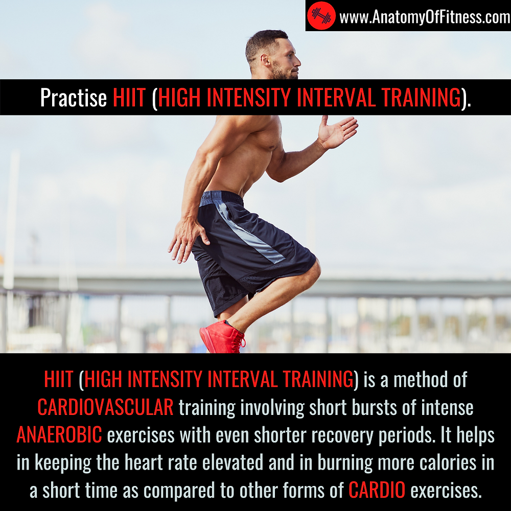 HIIT (HIGH INTENSITY INTERVAL TRAINING) for guaranteed FAT BURN.