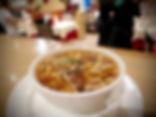 Potage Pékinois pimenté - Restaurant du Bonheur Courbevoie