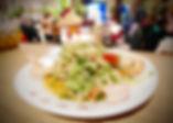 Salade Thaïlandaise aux crevettes - Restaurant du Bonheur Courbevoie