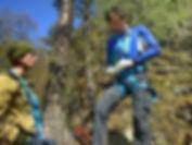 Отдых в горах. Альпшкола
