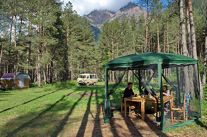 Горный клуб Эдельвейс, отдых на Кавказе
