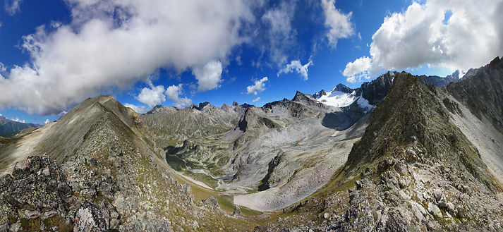 Вид с перевала Арючат