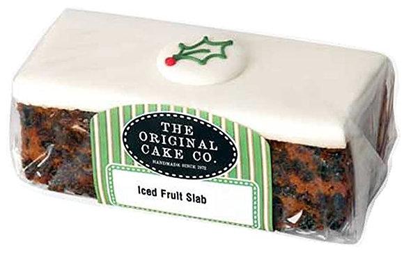 Iced Christmas Fruit Cake (320g)