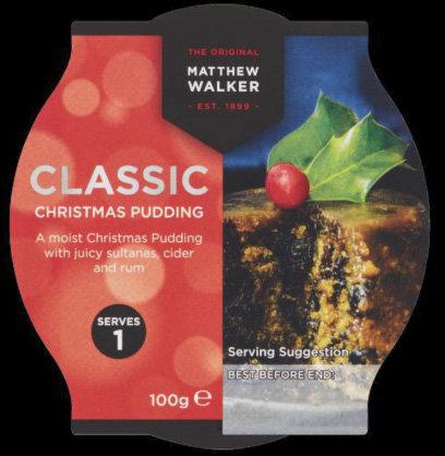 Classic Christmas Pudding (800g)