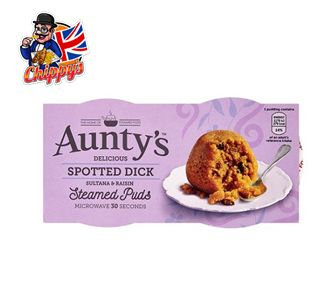 Spotted Dick Pudding (2ct)
