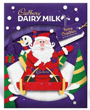 Dairy Milk Calendar (90g)