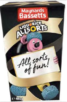 Liquorice Allsorts (400g)