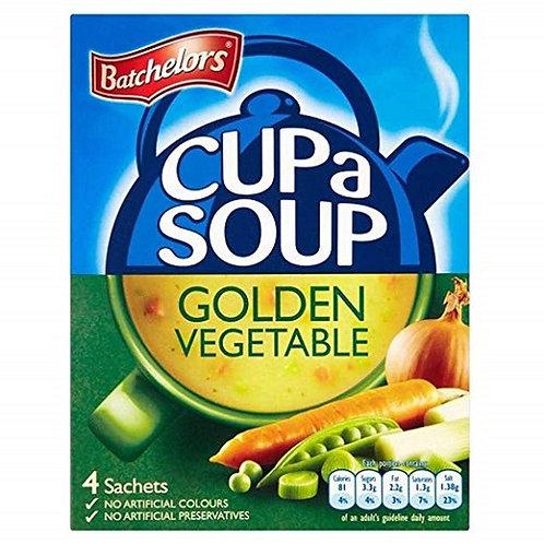 Batchelors: Cup-A-Soup Golden Vegetable 4pk