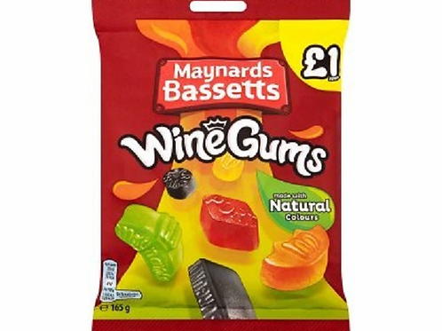 Bassetts: Wine Gums 165g
