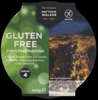 Gluten Free Christmas Pudding (100g)