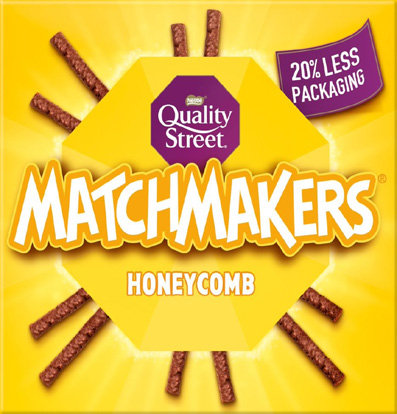 Matchmakers Yummy Honeycomb (120g)