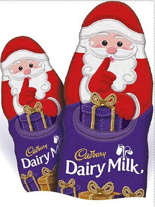 Hollow Chocolate Santa (100g)