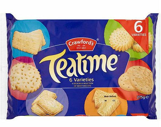 Teatime 6 Varieties (275g)