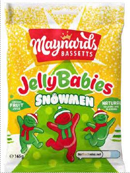 Jelly Babies Snowmen (165g)