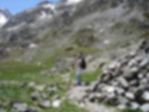 Petite randonnée dans la montagne