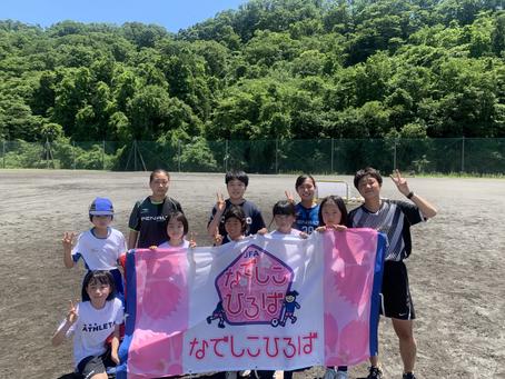 6/5sat 女子サークル in常盤木学園実沢グラウンド