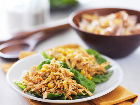 Spicy Crock Pot Shredded Chicken (perfect for tacos!)