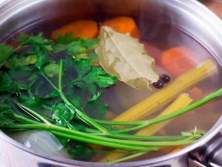 Vegetarian Gut Repair Broth