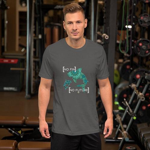 No Fin No Future Short-Sleeve Unisex T-Shirt