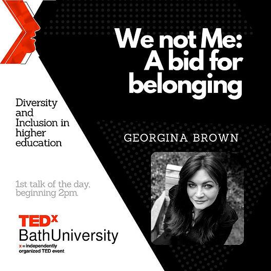 George-Brown-A-Bid-for-Belonging_TEDxTal