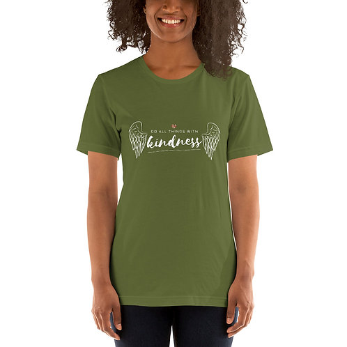Do all things with Kindness Short-Sleeve Unisex T-Shirt