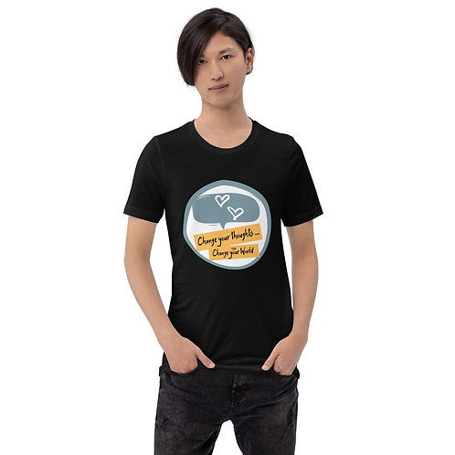 Change Your Thoughts Change Your World Short-Sleeve Unisex T-Shirt