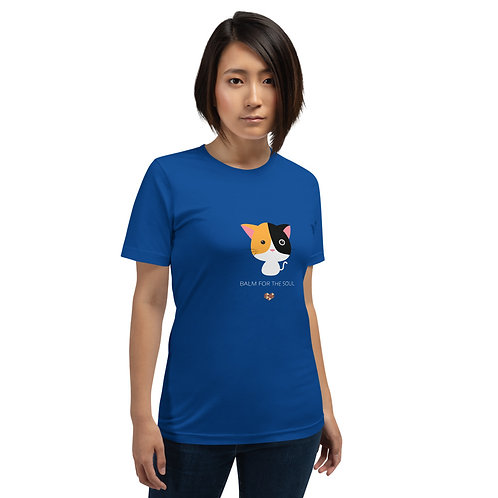 Cats Balm for the Soul Short-Sleeve Unisex T-Shirt