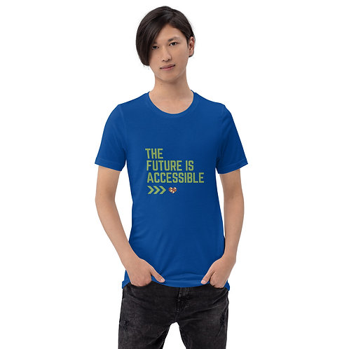 The Future is Accessible Short-Sleeve Unisex T-Shirt