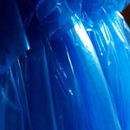Blue Plastic Bags