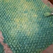 Painted Bubble Wrap