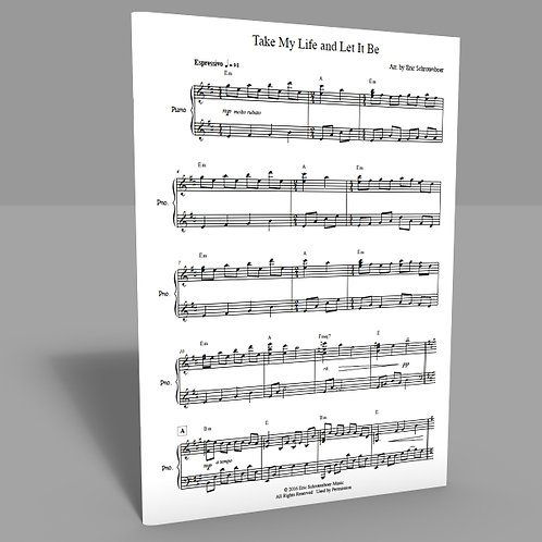 """Take My Life and Let It Be"" Sheet Music"