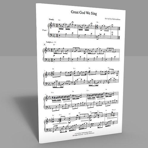 """""""Great God We Sing"""" Sheet Music"""