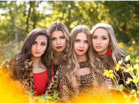 Red and Leopard Model Shoot