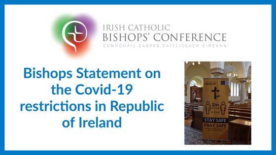 Bishops' Statement on COVID-19 Restrictions