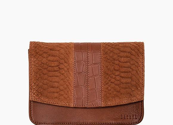 DétaiL shoulder bag COGNAC