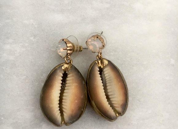 oorbellen schelpjes