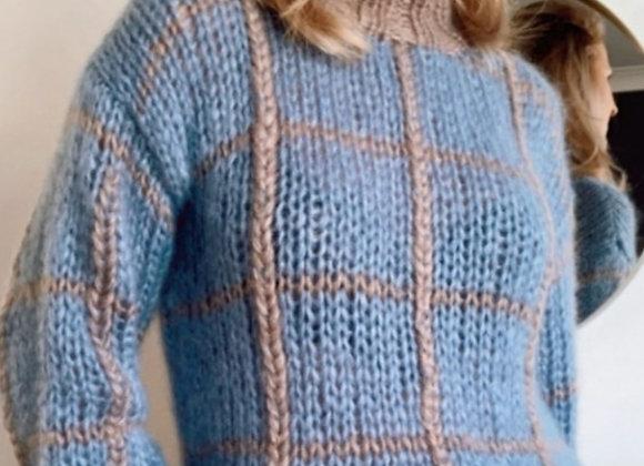 Brimanella trui met kraag en motief