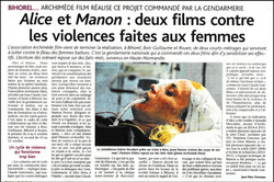 Le Bulletin  du 20 Oct  films de femmes